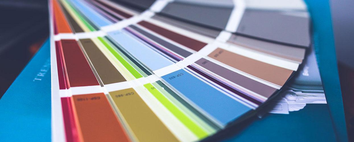 Web design couleur pantone