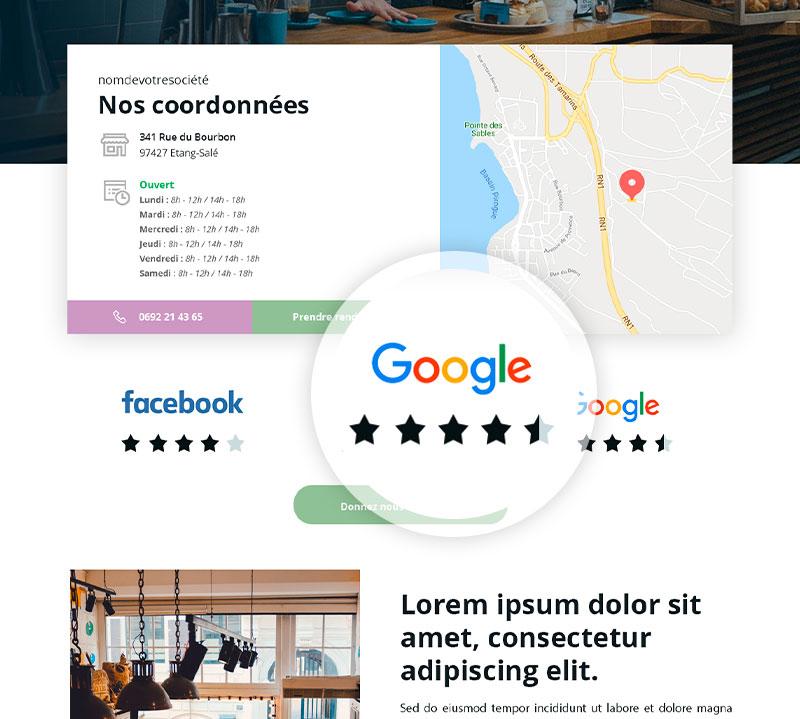 Donnez votre avis avec Google