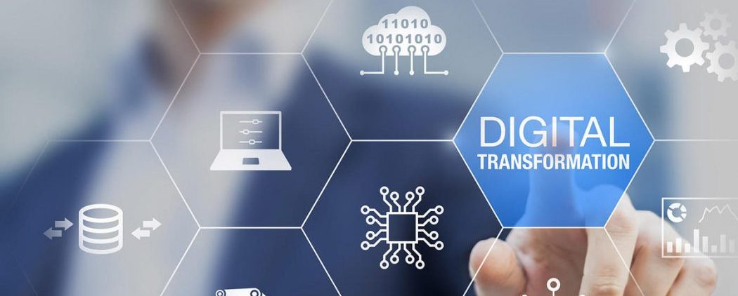 Digital transformation technology strategy, digitization and digitalization of business